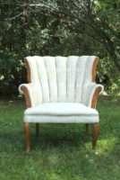 Matching Cream Chair