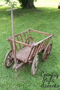 Image 2 of Wood Cart