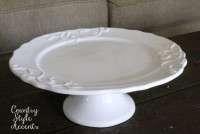 Round Platter Qty. 1