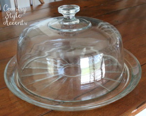 Cake plate with Dome Cover  Qty. 1