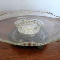 Round Ornate Platter (spins)  Qty. 1