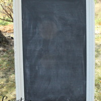 "Large White Chalkboard 27"" X 40"" Qty. 1"