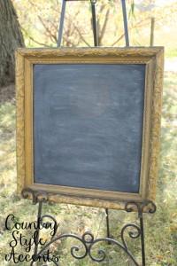 Gold Chalkboard Qty. 1
