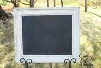 """White Chunky Chalkboard 21"""" X 25""""   Qty. 1"""