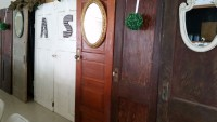 Variety of Antiuqe Doors Qty. 8