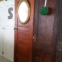 Variety of Antiuqe Doors Qty. 8