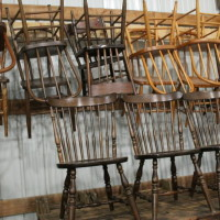 Variety of Wood Chairs