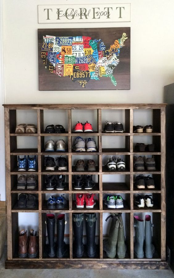 shoe cubby