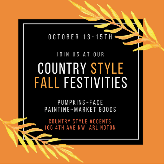 Fall Kick-Off October 13-15th